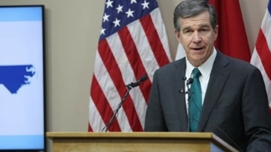 X North Carolina Governor Roy Cooper oversaw a moratorium on onshore wind but at last seems to be lo