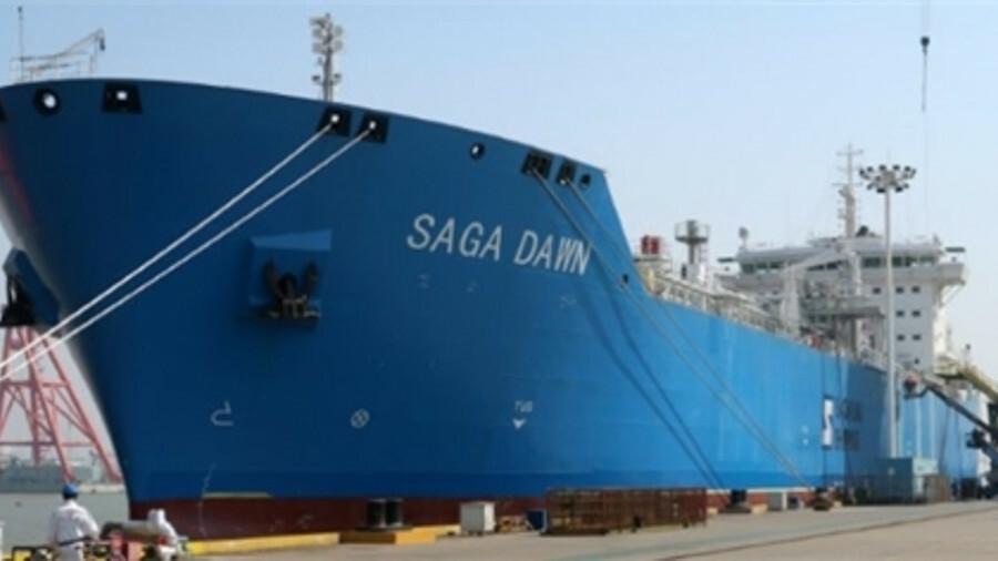 Saga Dawn is the first LNGC in Saga LNG Shipping's fleet