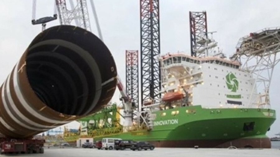 A number of companies in the UK will benefit from DEME's work on the Moray East offshore windfarm