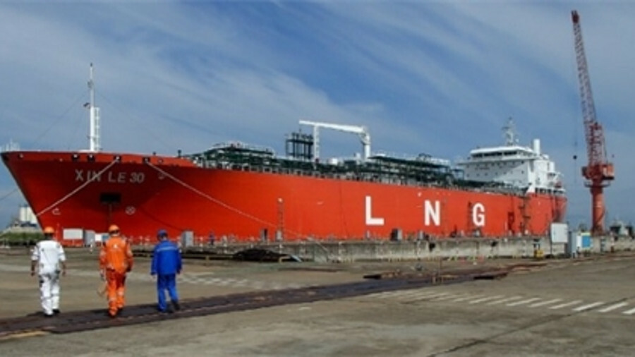 LNG carrier newbuild acquired by Anthony Veder will be ready for service this summer