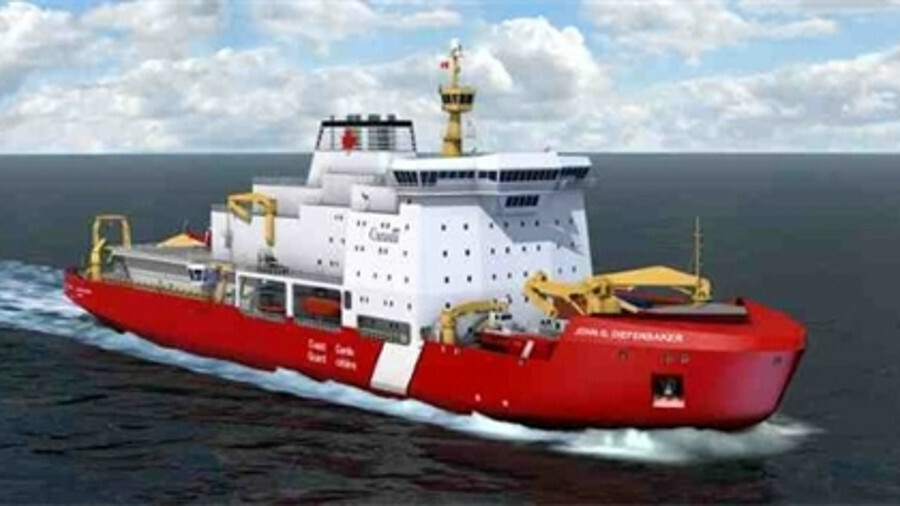 X The donation and marine systems programme come as Canada invests in renewing its fleet (credit: Va