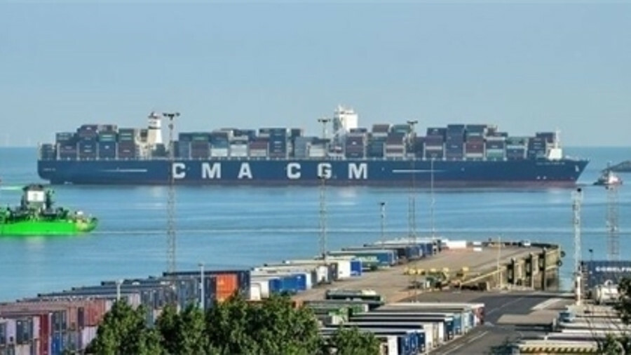 CMA CGM is set to hold 89.47% of the share capital and voting rights of CEVA (credit: CMA CGM)