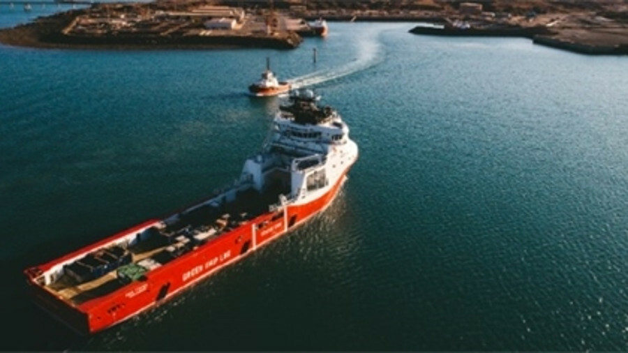 X Siem Thiima could be the first of many LNG-fuelled OSVs chartered by Woodside Energy (credit: Wood