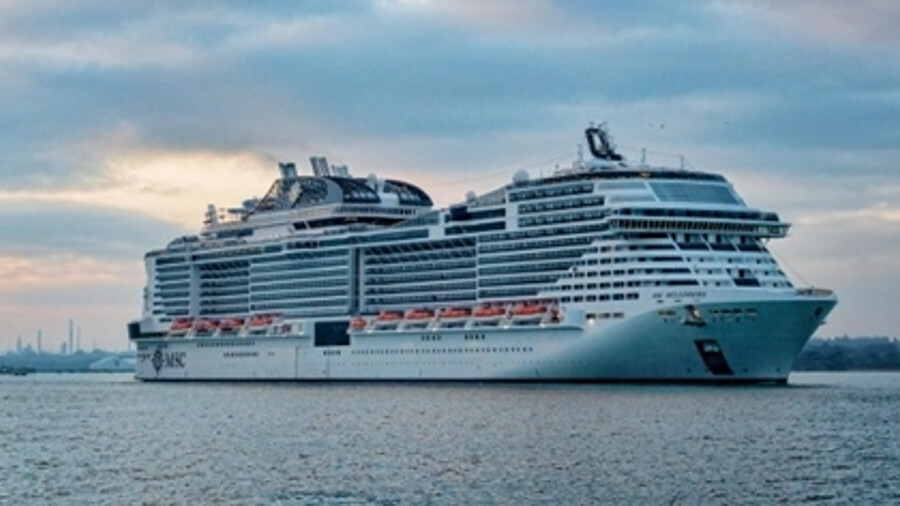 MSC Bellissima is fitted with BIO-UV's skid-mounted BIO-SEA B02-0300 ballast water treatment system