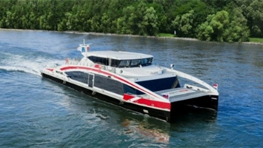 Twin City Liner: designing a ferry to match the Danube