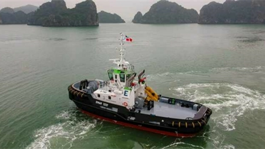 <i>E-Two</i> has a modular marine NOx reduction system and FiFi1 fire-fighting system