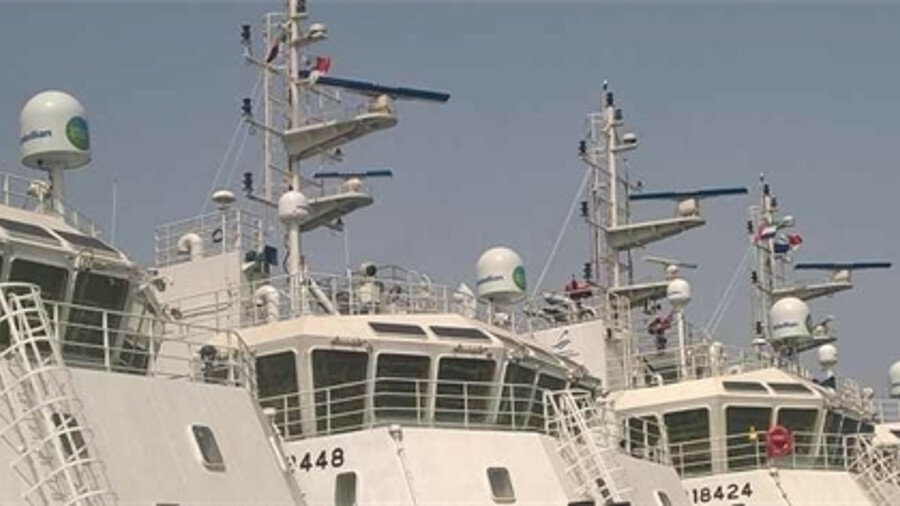 VSAT is being deployed on fleets of vessels to provide internet access to seafarers