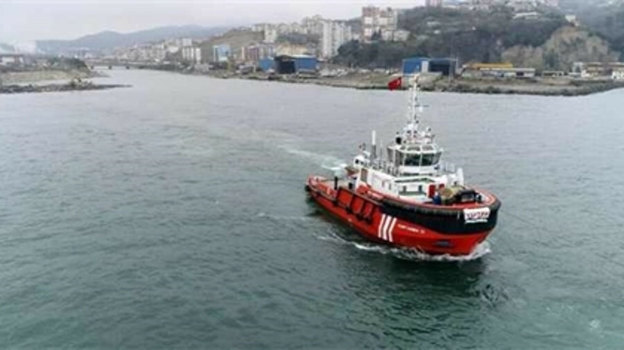 X Yutek Shipyard delivered the first of two emergency response tugs to the Turkish Directorate Gener