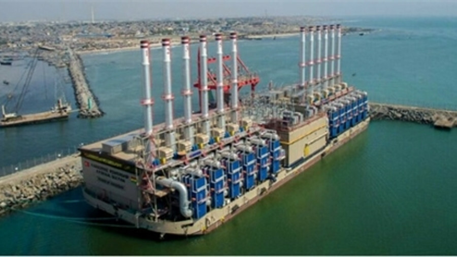 Karpowership's fleet of floating power stations are turnkey power-to-grid solutions