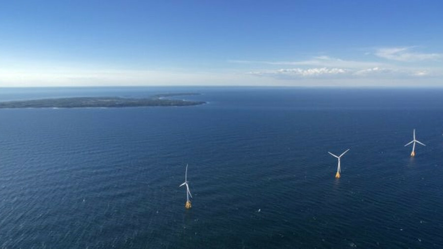 The 30 MW produced by Block Island Wind Farm will boost US offshore wind power to 18.6 GW by 2030