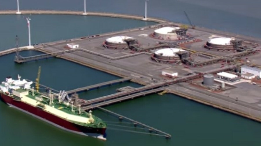 Qatar supplies most of the LNG that is shipped to the Port of Zeebrugge