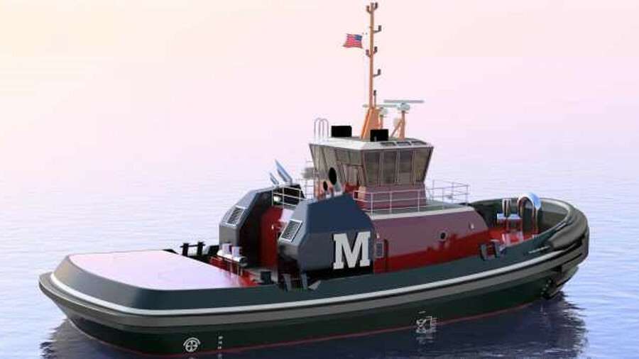 Jensen designed an escort tug with 61 tonnes of bollard pull for Moran Towing