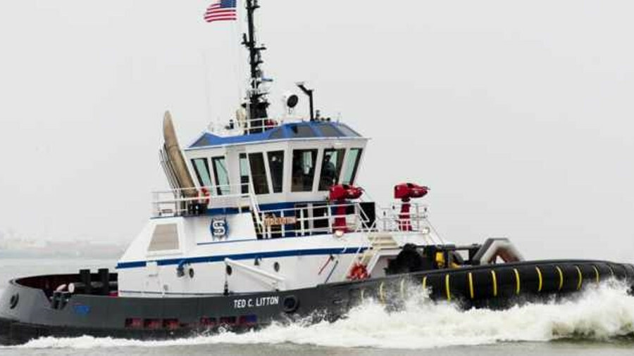 <i>Ted C Litton</i> is a Z-Tech 30-80 design tug operating in Texas terminals