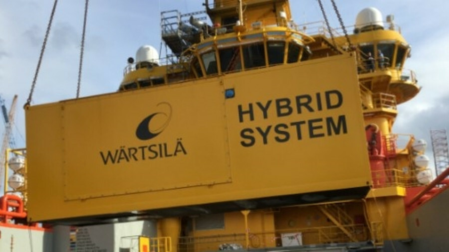 X Wärtsilä will supply an energy storage system, energy management system, transformer and drive, al