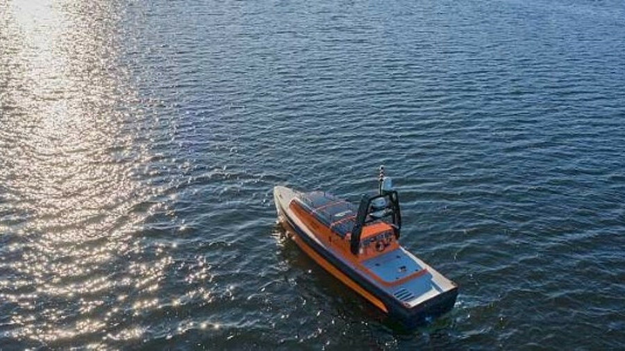 The Sounder USV has an endurance of up to 20 days at a speed of 4 knots (image: Kongsberg Maritime)