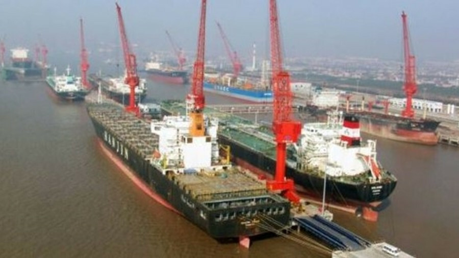 X CIC Changxing: According to Clarkson Research Services, the most prolific repair yard in the world