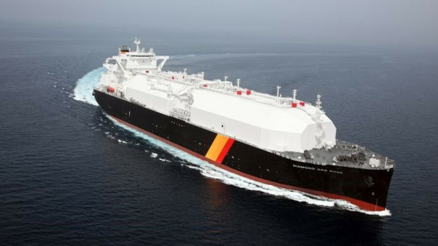 Diamond Gas Rose's StaGE hybrid propulsion plant will cut CO2 emissions by 20% (image: NYK Line)