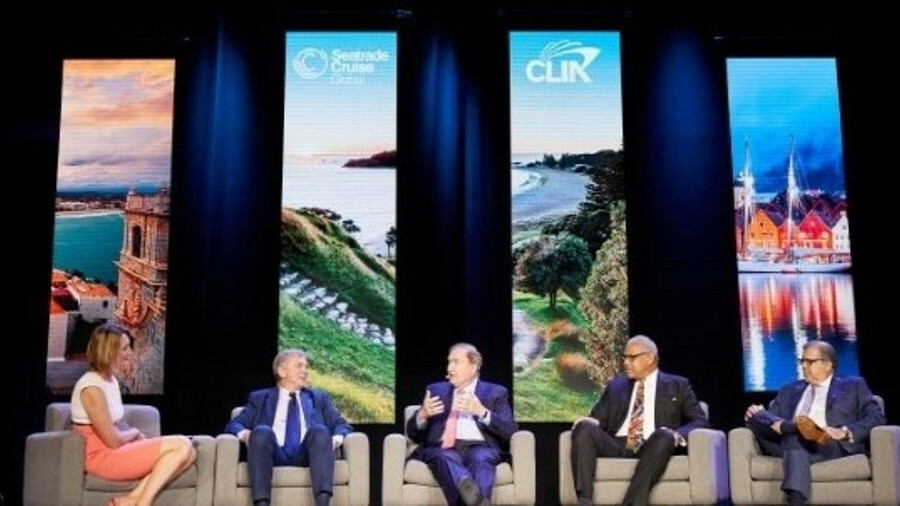 X Cruise operator bosses at Seatrade Cruise Global (pictured) emphasied the importance of China in t