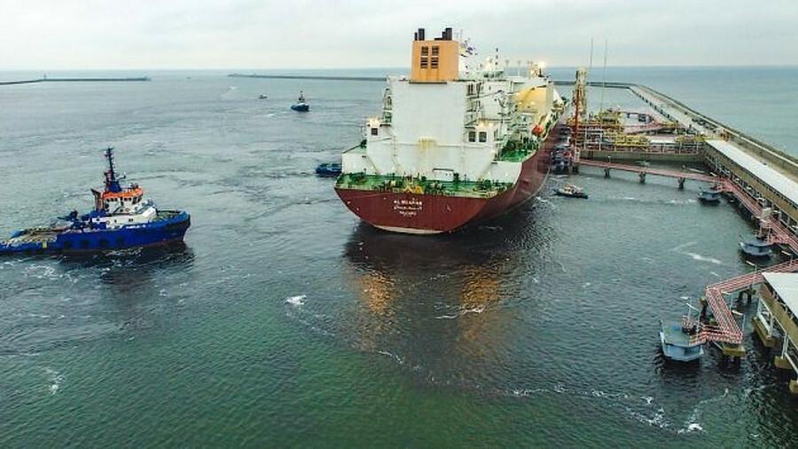 Qatar will supply 2 mta of LNG to Poland via the Swinoujscie LNG terminal