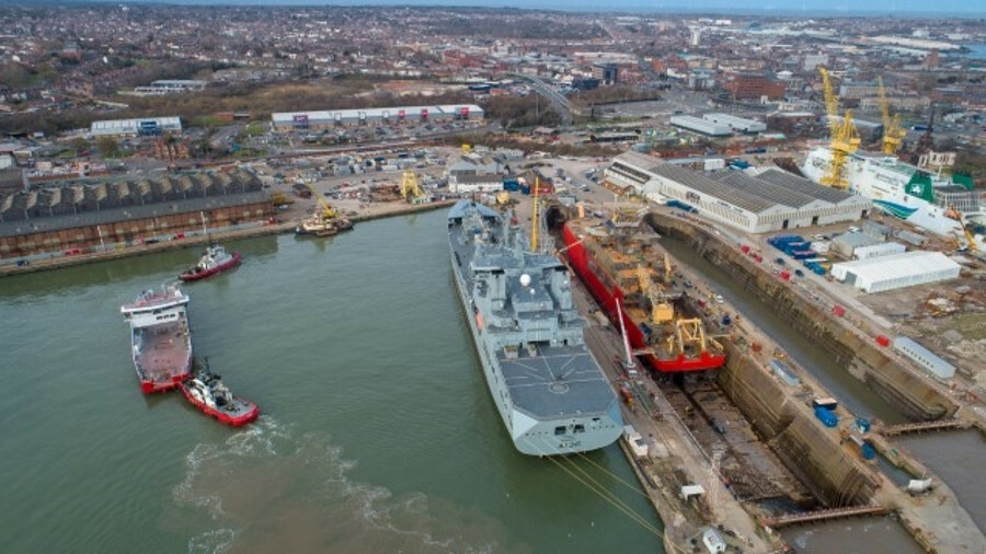 Merseyside yard plots British shipbuilding revival