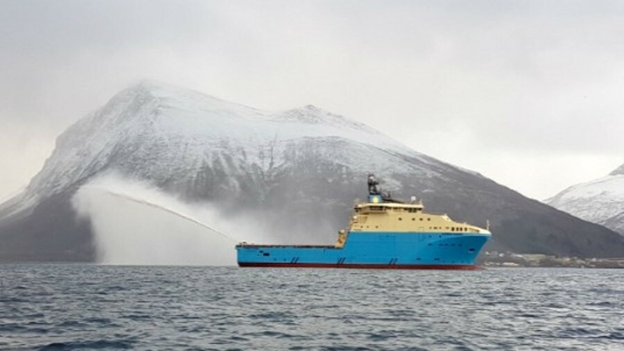 X Maersk Maker, one of Maersk Supply Service's new Starfish-class AHTS vessels (image: Maersk Supply
