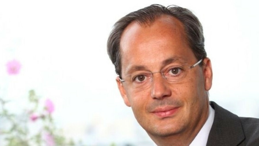 X Jérôme Pécresse said GE Renewable Energy's first quarter results were affected by one-offs and by