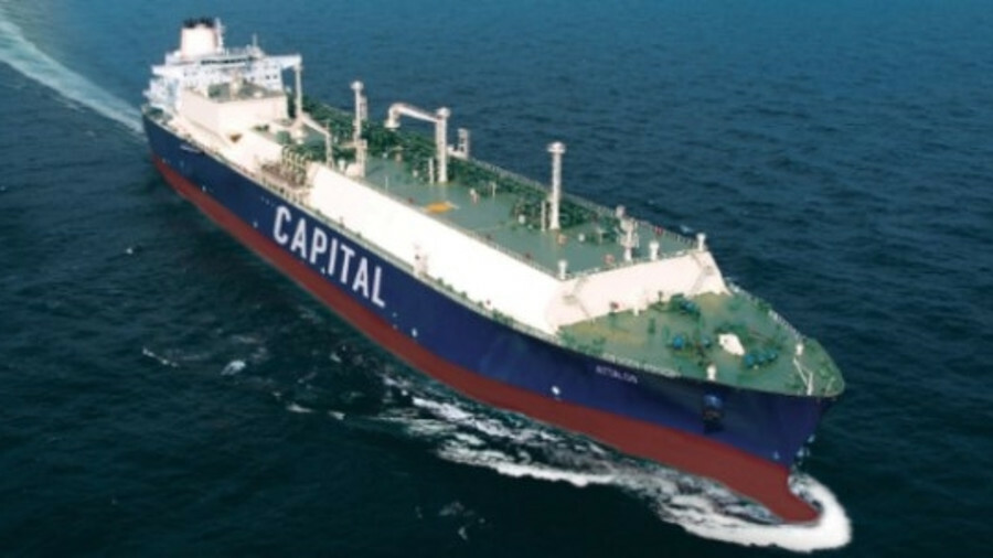 Capital Gas Corp now has six 174,000 m<sup>3</sup> carriers on order at HHI