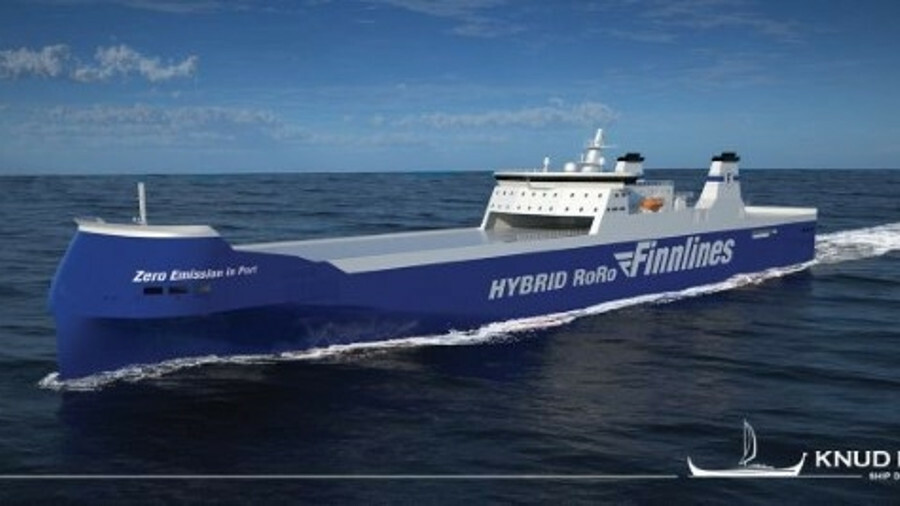 Knud E Hansen has signed a contract for the basic design of three large vessels for Finnlines