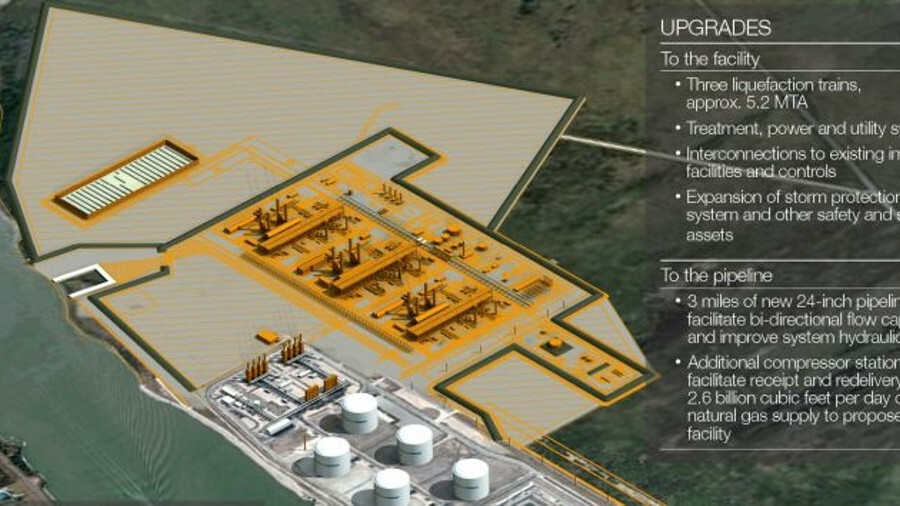 Operations are expected to commence at the Golden Pass Product's LNG export terminal in 2024