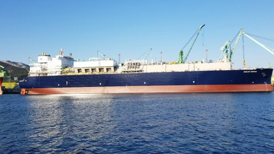 <i>GasLog Warsaw</i> helps meet rising demand for LNG shipping