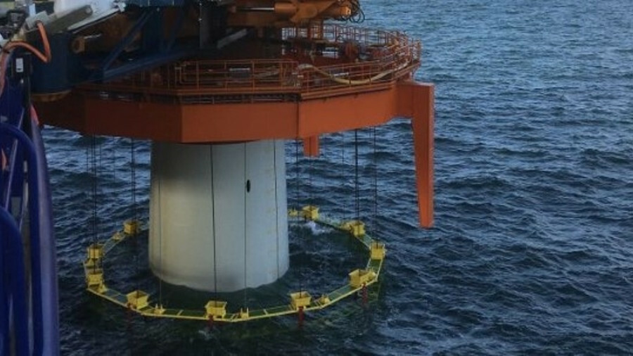 X Van Oord said it plans to use the noise mitigation system on the Borssele 3, 4 and 5 offshore wind