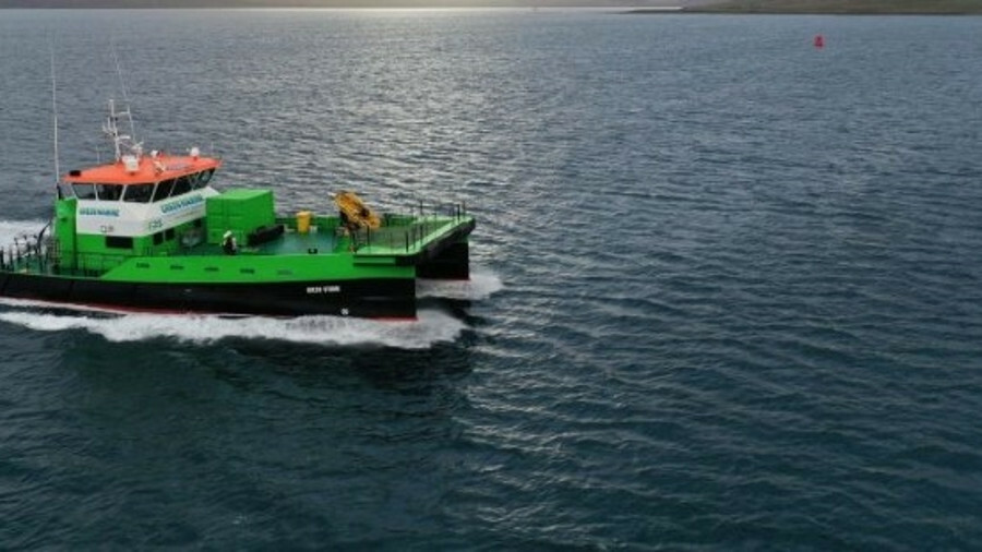Green Marine operates a diverse range of vessels, including crew transfer vessels