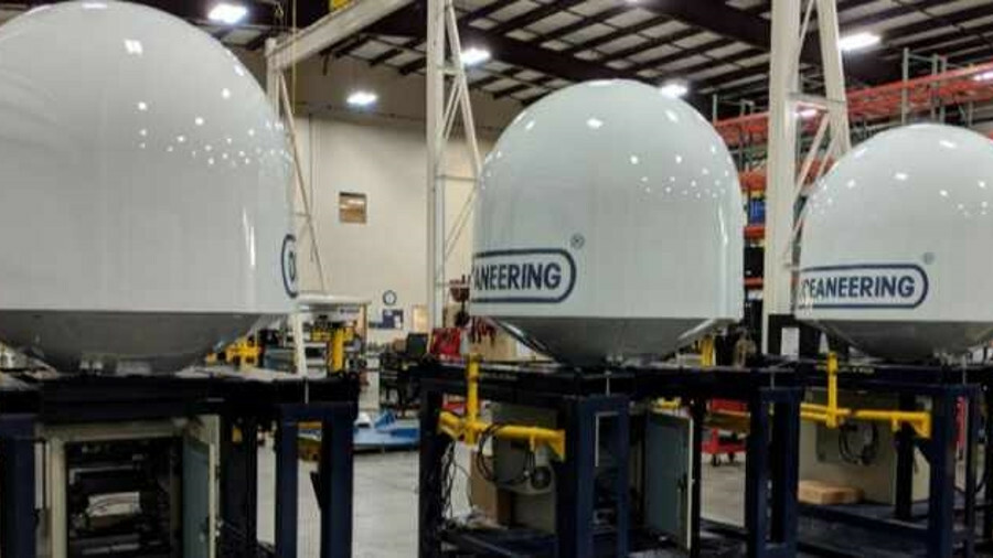 Oceaneering prepares its SAIL communications packages for Pacific Drilling's drillships