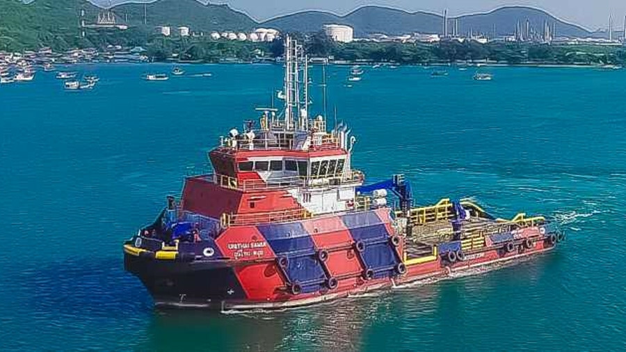 <i>Unithai Samui</i> was built to a OSD-IMT 7001 design with 80 tonnes of bollard pull