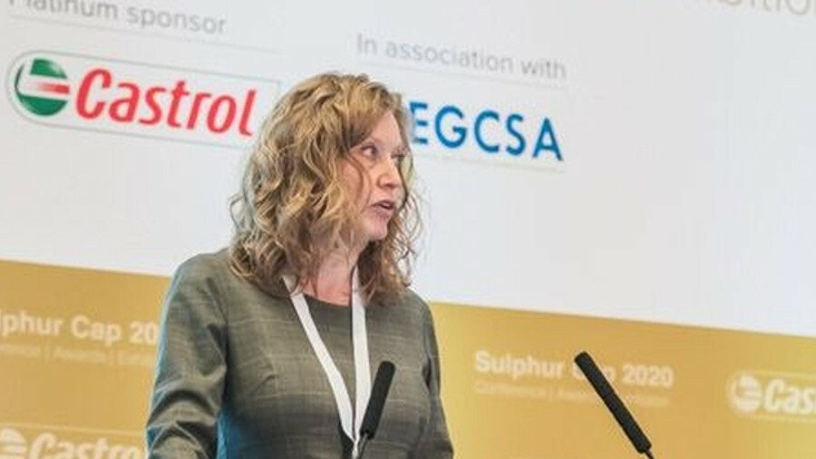 """X Charlotte Røjgaard (Bureau Veritas VeriFuel): """"What I've seen from the study so far is that it's n"""