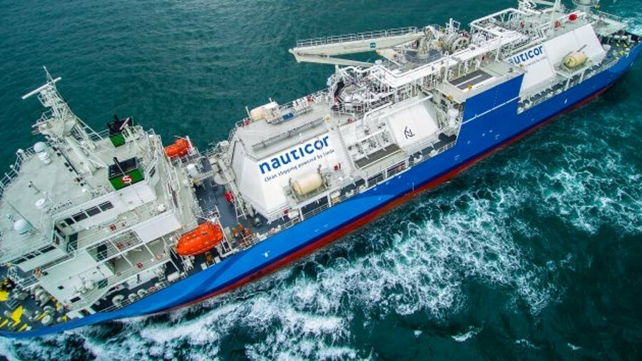 Kairos LNG bunker supply vessel: careful design eliminates the need for ballast