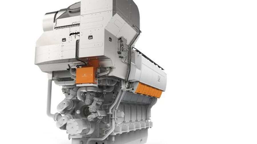 X Efficiency improvements like two-stage turbocharging on the Wärtsilä 31 engine can be used to full