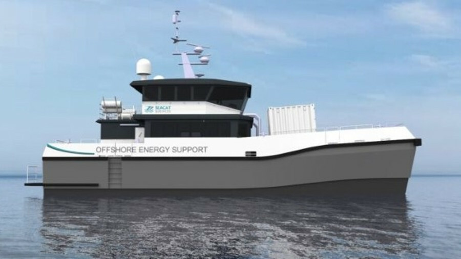 Seacat Weatherly is the first example of the Chartwell 24 crew transfer vessel to be ordered