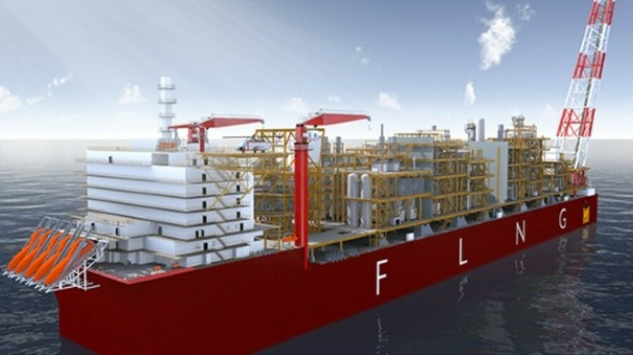 Under construction at SHI, Coral Sul will be the world's first FLNG vessel in ultra-deep waters