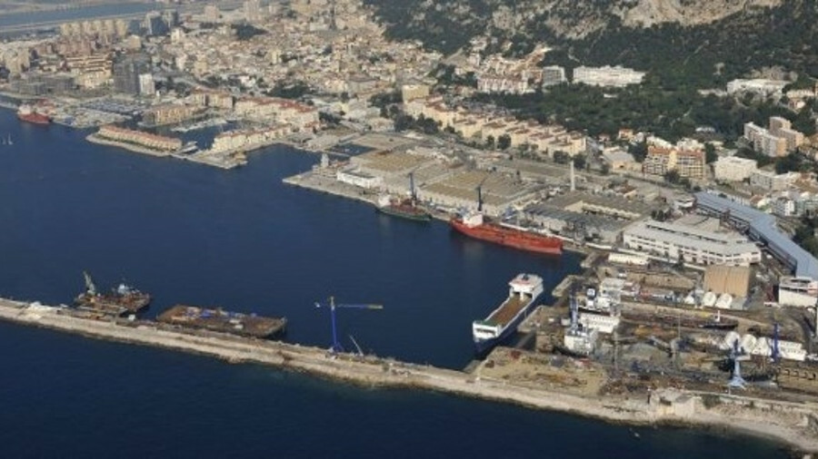 Balearia's Napoles ferry has completed an LNG conversion at Gibdock shipyard