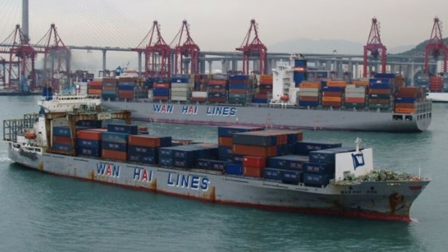 The 1991-built handy container ship Wan Hai 206 was sold for scrap at US$400/ldt 'as is'