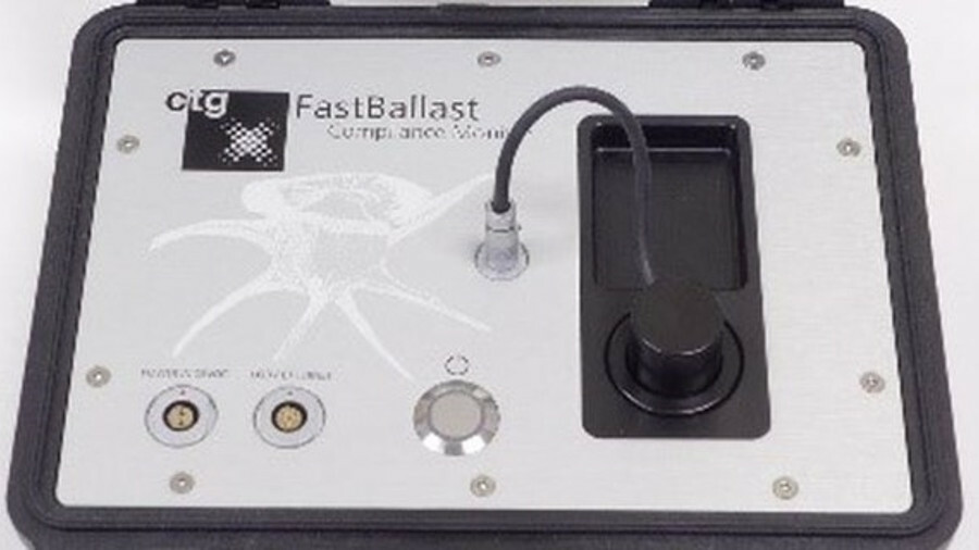 Chelsea Technologies Fast Ballast chosen as the testing kit for Belgium waters