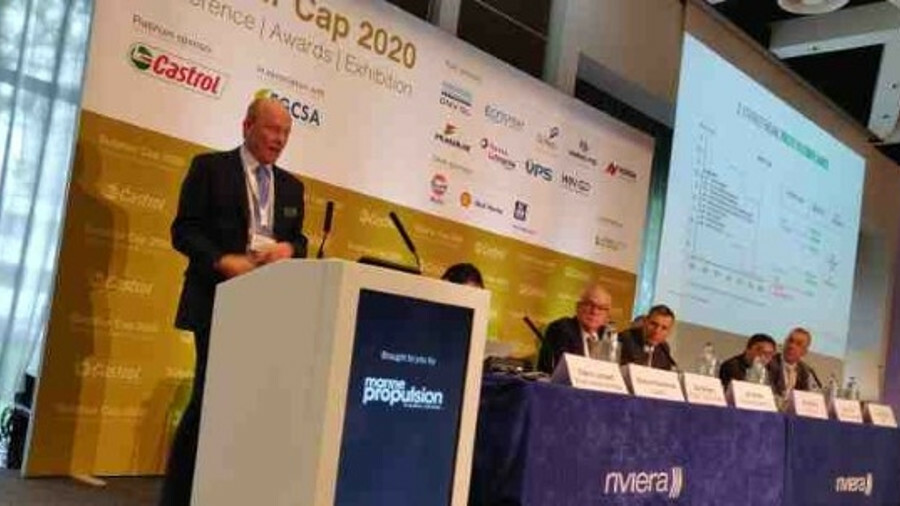 Lubricant suppliers discuss cylinder condition strategies at the Sulphur Cap 2020 Conference