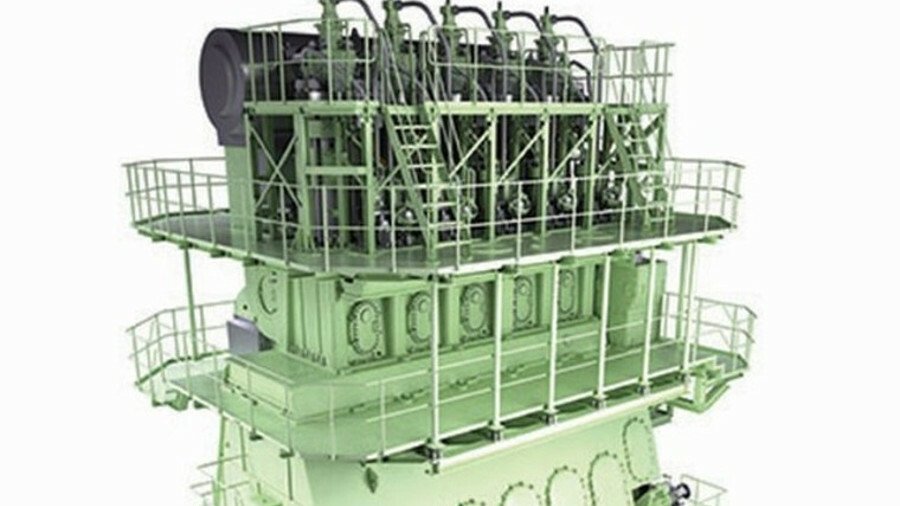 A low-pressure sibling is being conceived for MAN's high-pressure ME-GI dual-fuel engine