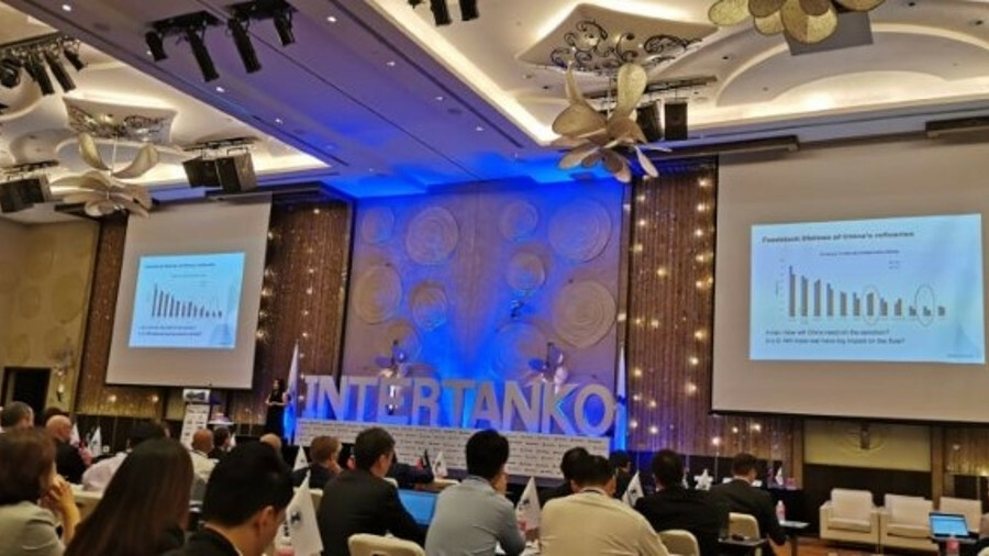 2019 Intertanko Tanker Event in Singapore (credit: Chris Tims)