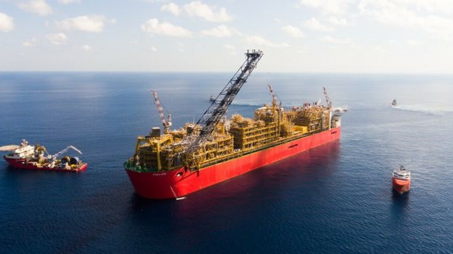 X The world's largest floating structure, Prelude FLNG, is one of Australia's gas megaprojects (imag
