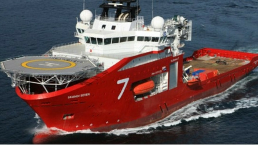 X The CSV Skandi Seven will conduct riser and umbilical work under a 20-day contract at the end of M