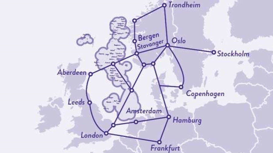 Tampnet's 4G and fibre network in the North Sea