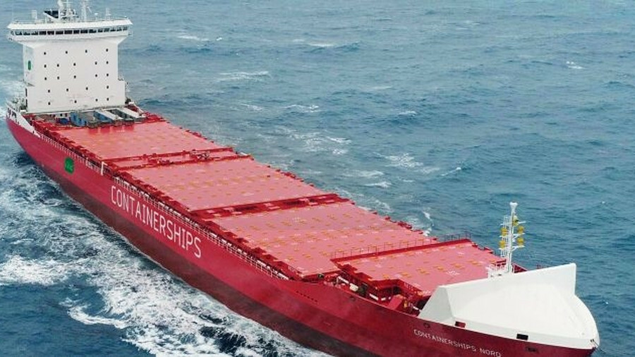 Containerships Nord: pioneering LNG-fuelled feeder ship