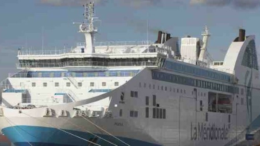 Dry scrubber technology installed on French ferry